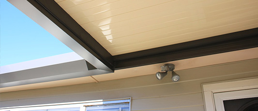Easy Fall Guttering - pergloas